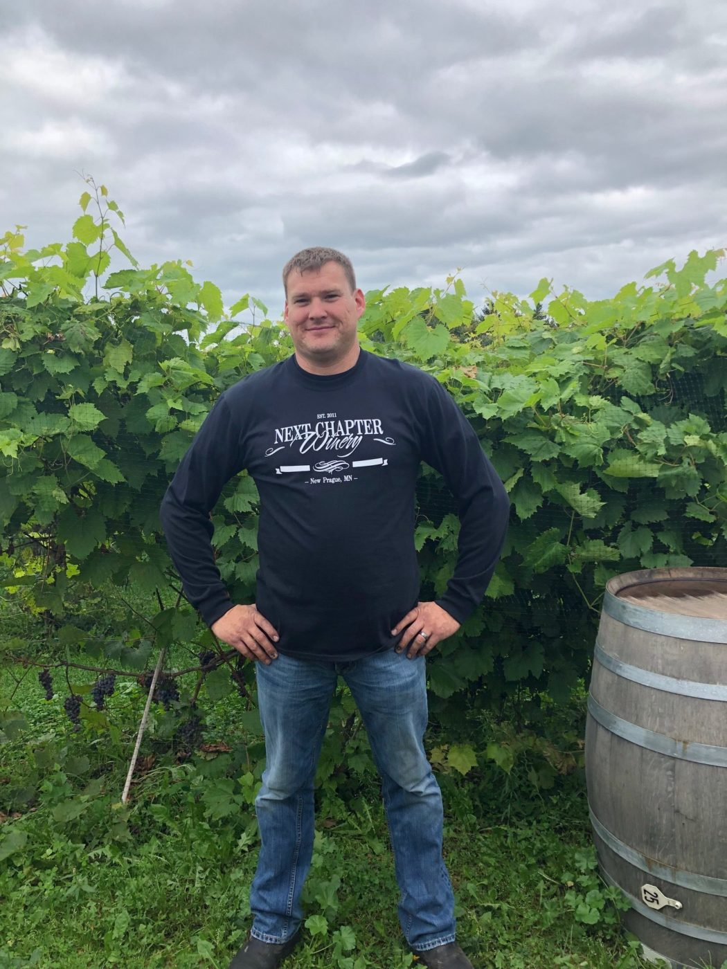 Winery and Vineyard Manager Jeff Brockway