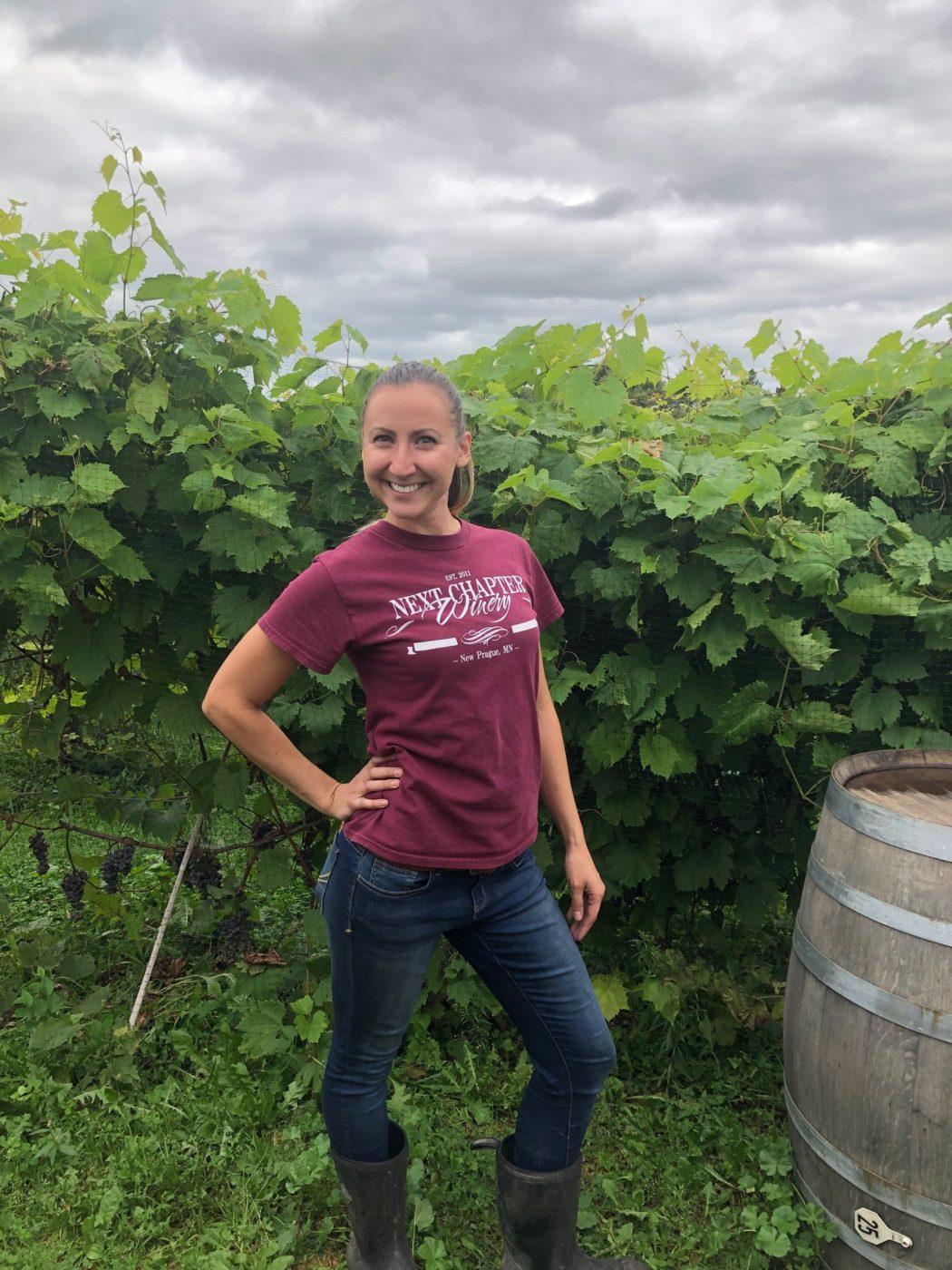 Assistant Winemaker Jen Wagner